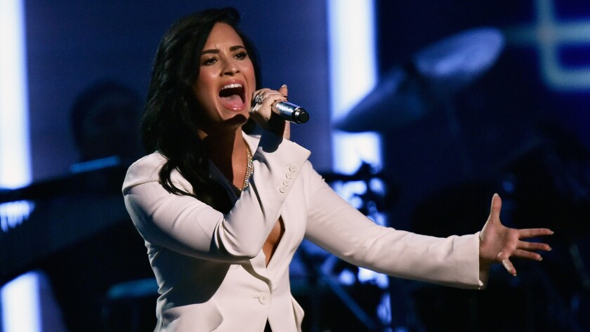 Image result for demi to perform at grammy