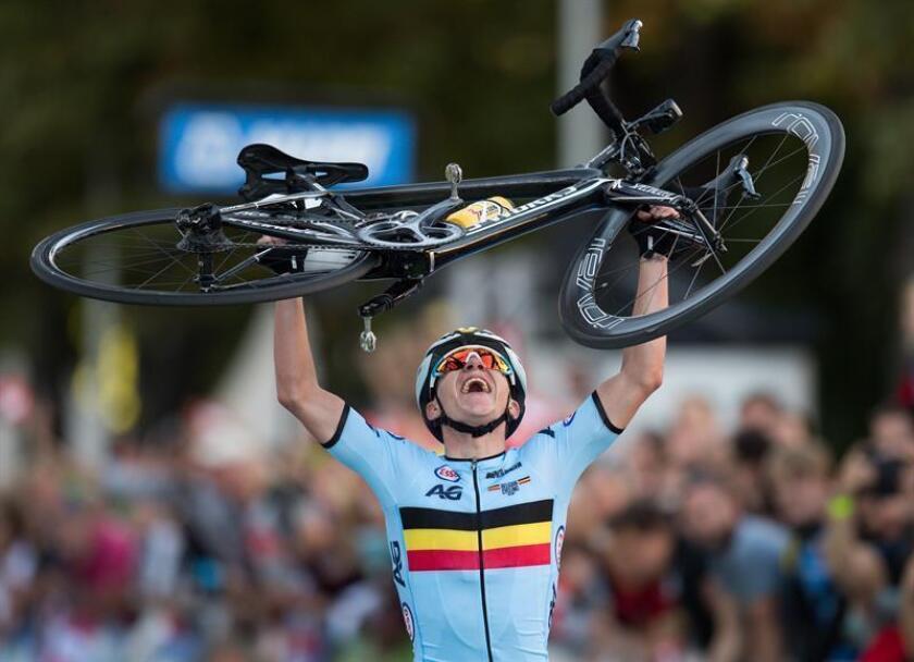 Remco Evenepoel, ciclista belga. EFE/Archivo