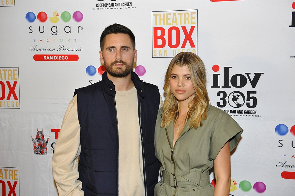 Scott Disick and Sofia Richie at Sugar Factory American Brasserie