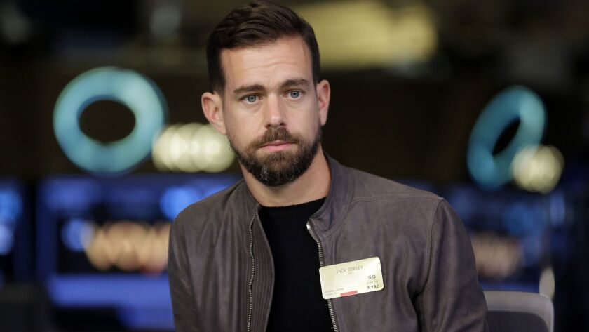 Jack Dorsey is co-founder and chief executive of Square.