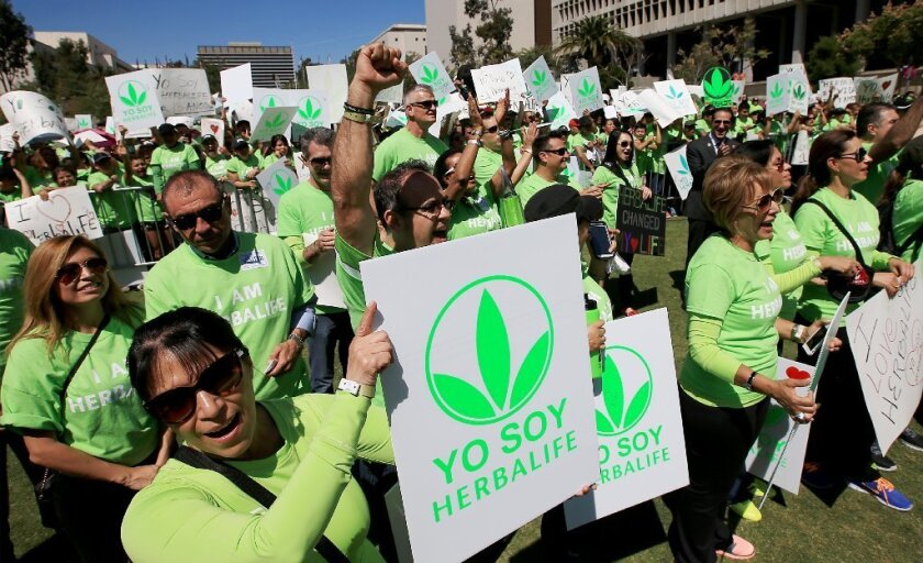 Herbalife rally