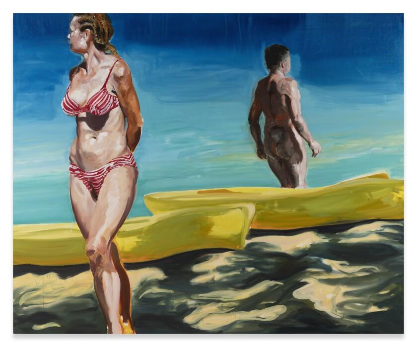 "Eric Fischl's ""On the Beach"""