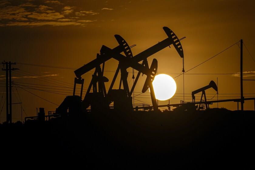 Oil field near McKittrick
