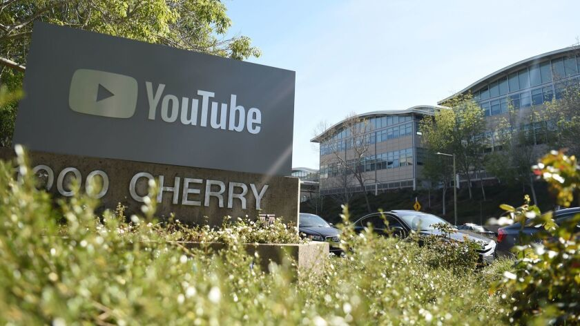 A man was arrested after making threats against YouTube employees.