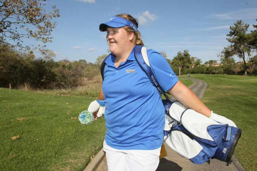 As a sophomore last season, San Pasqual's Haley Moore finished second in the Southern California Regional championship and seventh in the state championship.