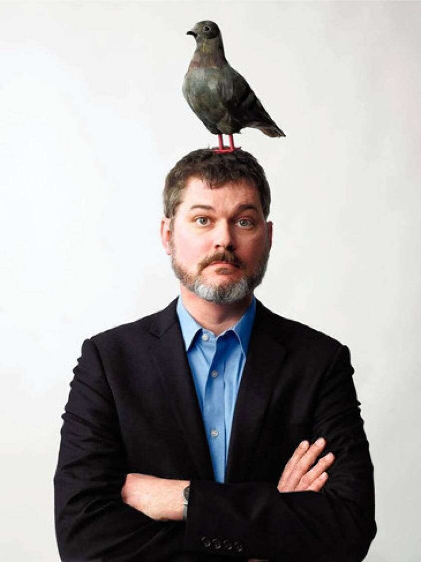 Children's author Mo Willems has something on his mind.