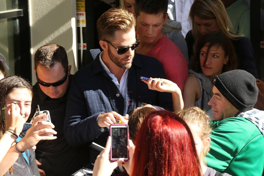 Chris Pine pleads guilty to drunk driving