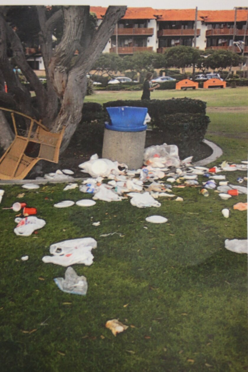 More frequent trash pickup at Kellogg Park could be on the list of improvements in the city's 2016 budget.