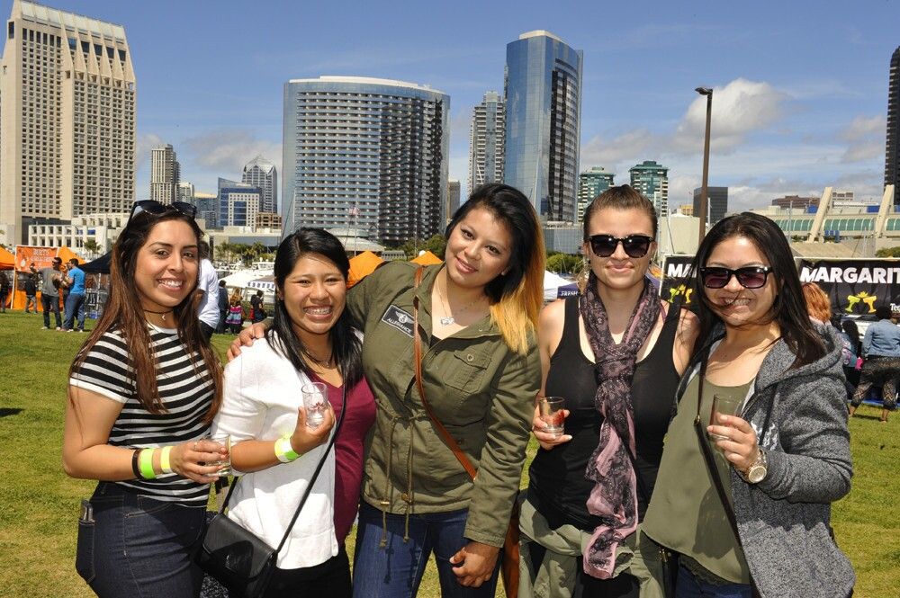 Locals celebrated two of our favorite San Diego staples - tacos and tequila - at the Tequila & Taco Music Festival on Saturday, March 25, 2017.