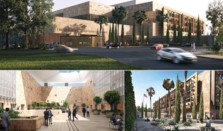 La nueva embajada de EEUU en México está en una zona conocida como Nuevo Polanco...