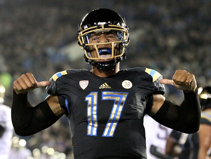 Several ESPN analysts have the UCLA Bruins winning big this season: Pac-12 championship, national championship and the Heisman Trophy to boot.