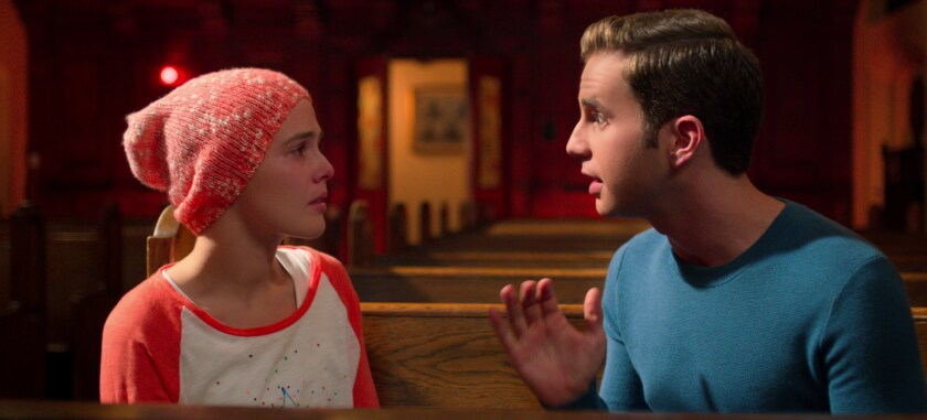 "Zoey Deutch and Ben Platt in a scene from Netflix's ""The Politician."""