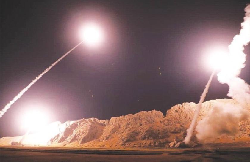 Image result for Irán ataca con misiles base de E. U. en Irak