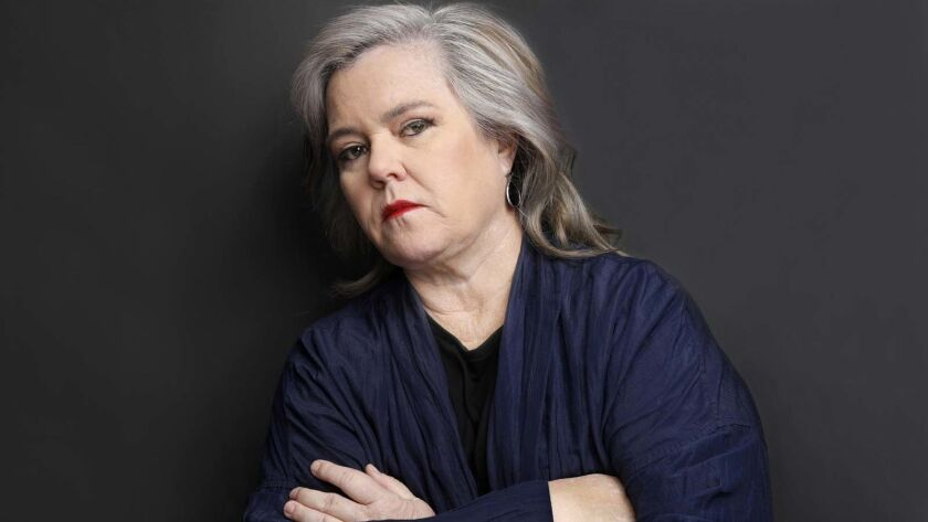 """Rosie O'Donnell is disappointed with the author of a new tell-all book about """"The View."""""""