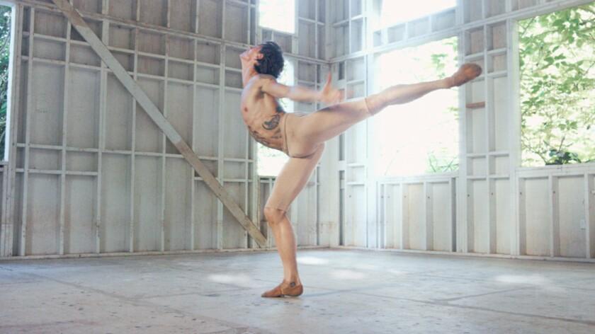 """Sergei Polunin in the documentary """"Dancer."""""""