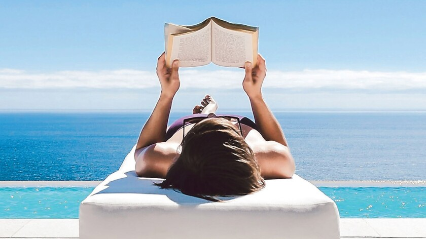 Summer reading: pages and pages of promise.