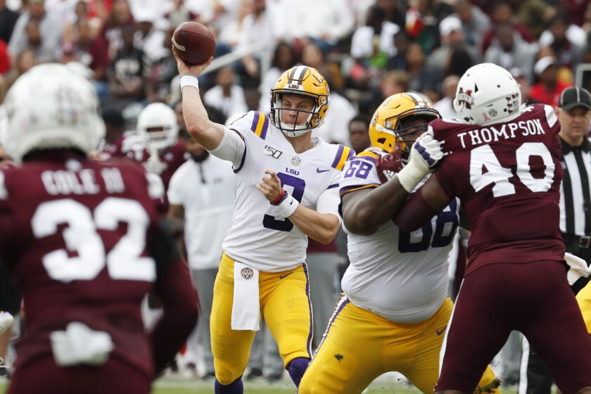 LSU Mississippi St Football