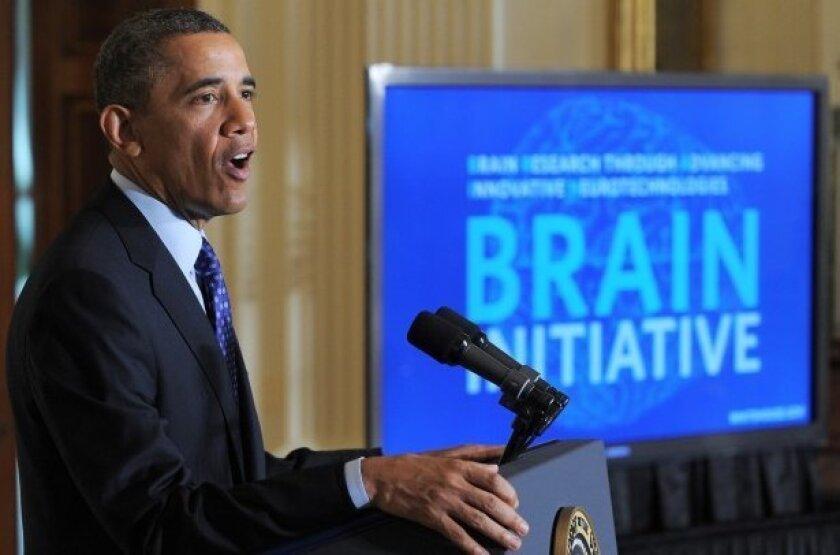 President Barack Obama announced the BRAIN initiative on April 2.