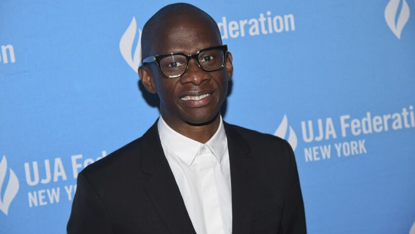 Troy Carter, Spotify's global head of creator services, at the UJA-Federation of New York's Music Visionary of the Year award luncheon in June.
