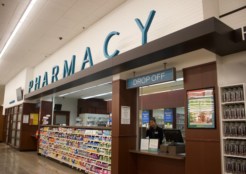 The COVID-19 tests can be picked up at any pharmacy location of Albertsons, Vons or Pavilions in San Diego.