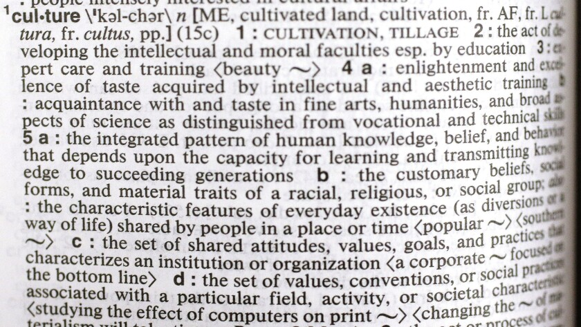 Culture Is Merriam Webster S Word Of The Year For 2014