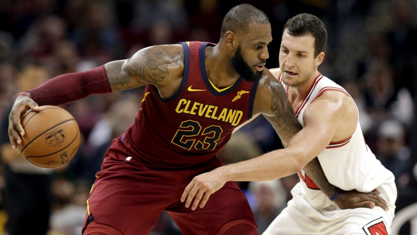 Paul Zipser, LeBron James