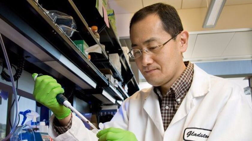 Shinya Yamanaka shared a Nobel Prize in 2012 for his invention of a new type of stem cell.