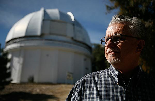 Dave Jurasevich, superintendent of Mt. Wilson Observatory, stayed on the hilltop research center with coworkers and firefighters to battle the Station fire.