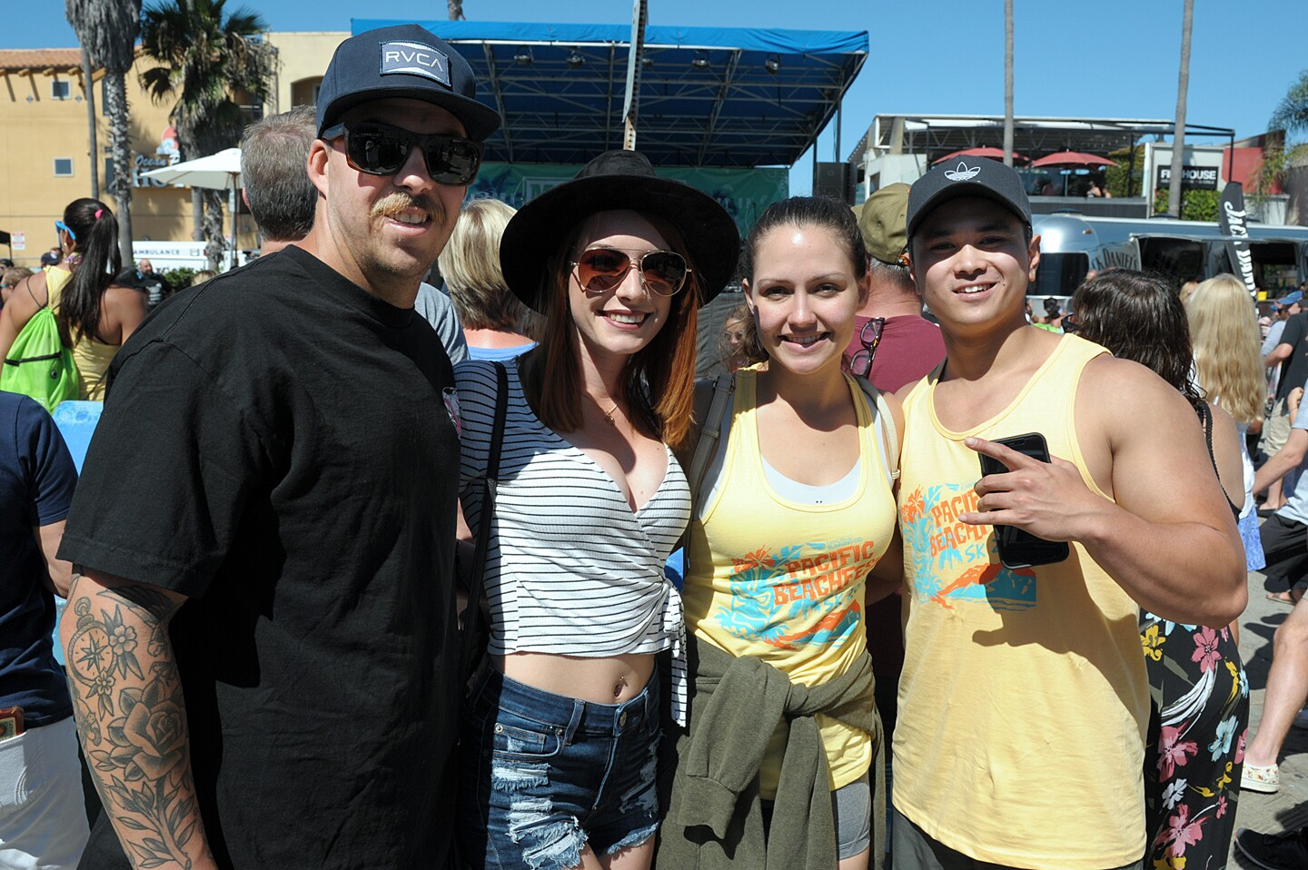 San Diegans kept the summer vibes going at Pacific Beachfest on Saturday, Oct. 5, 2019.