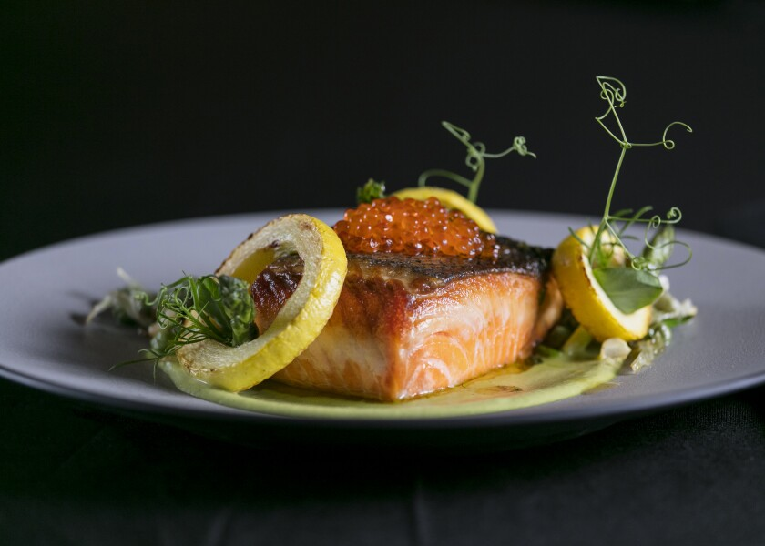 This farm-raised salmon is challenging fancy tuna for king of the seafood world