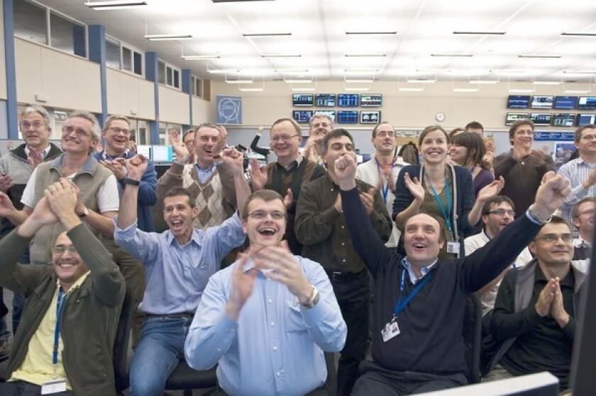 European Large Hadron Collider