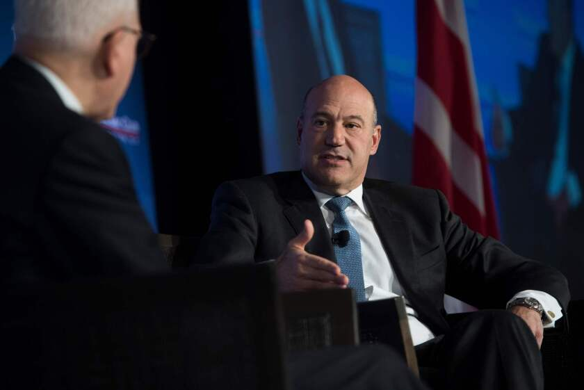 Gary Cohn, President Trump's National Economic Council director, expressed surprise when few executives said they would invest in the economy with expected tax breaks promised by the administration.