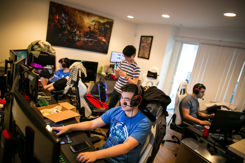 L A Tech Sports Titans Jump Into Competitive Gaming With E