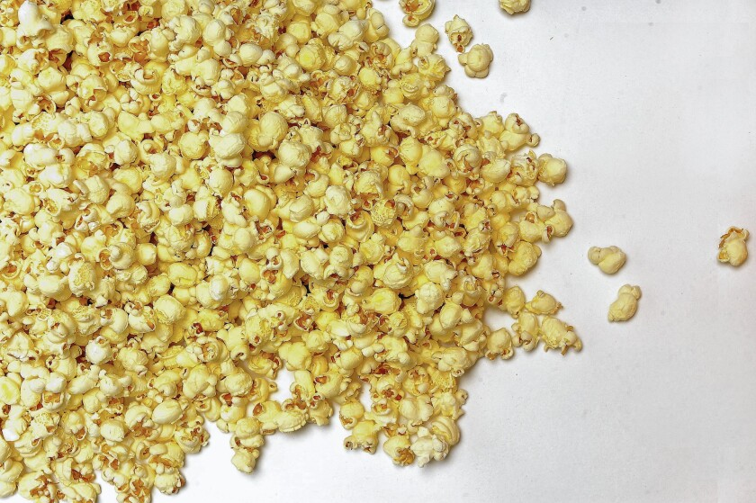 Popcorn sales are climbing, and the trend toward bags of pre-popped corn has come with an increase in flavor combinations too.