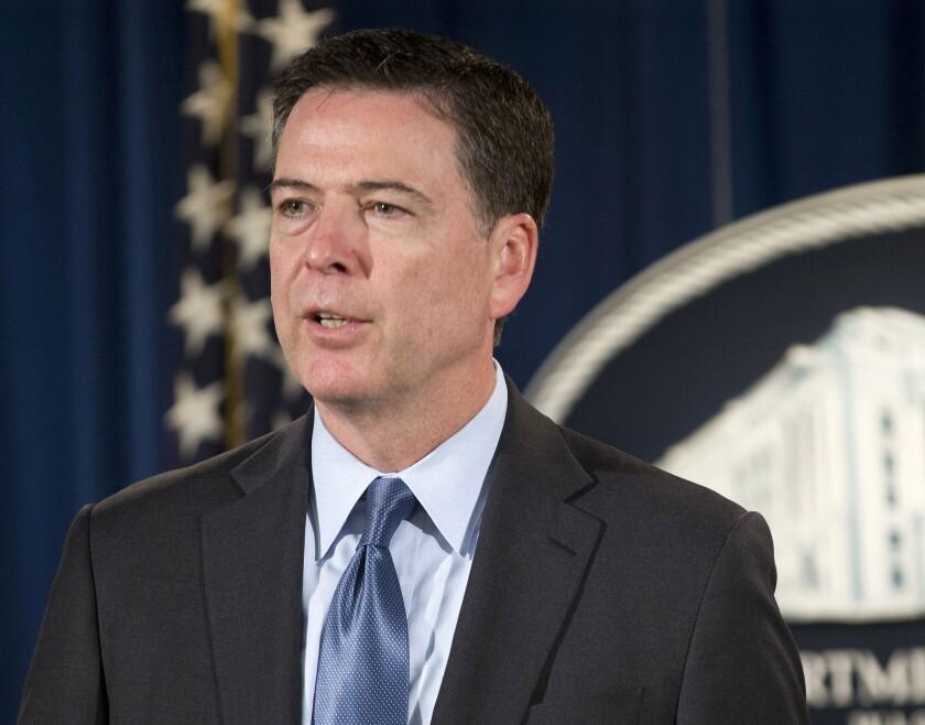 FBI Director James B. Comey.