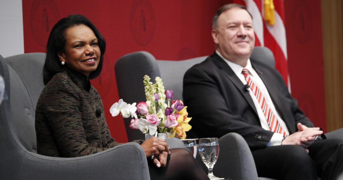 Column: Condi Rice wants to 'move on' from Jan. 6. What does that even mean?