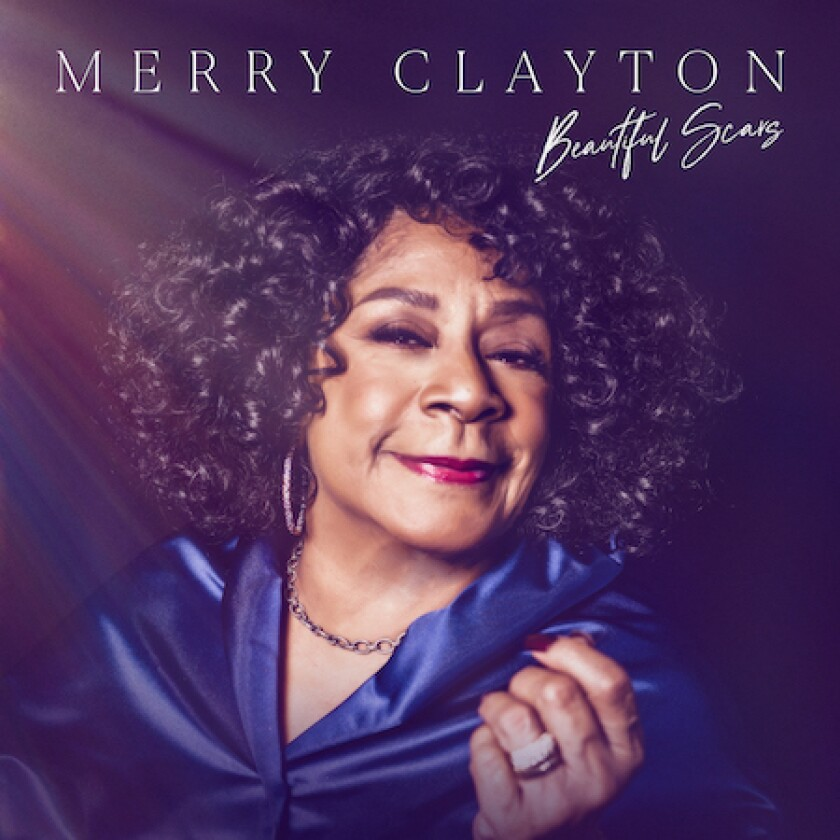 "This cover image released by Motown Gospel shows ""Beautiful Scars"" by Merry Clayton. (Motown Gospel via AP)"