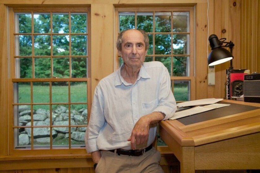 """Author Philip Roth, author of the book """"Nemesis"""" published by Houghton Mifflin Harcourt, 2010."""