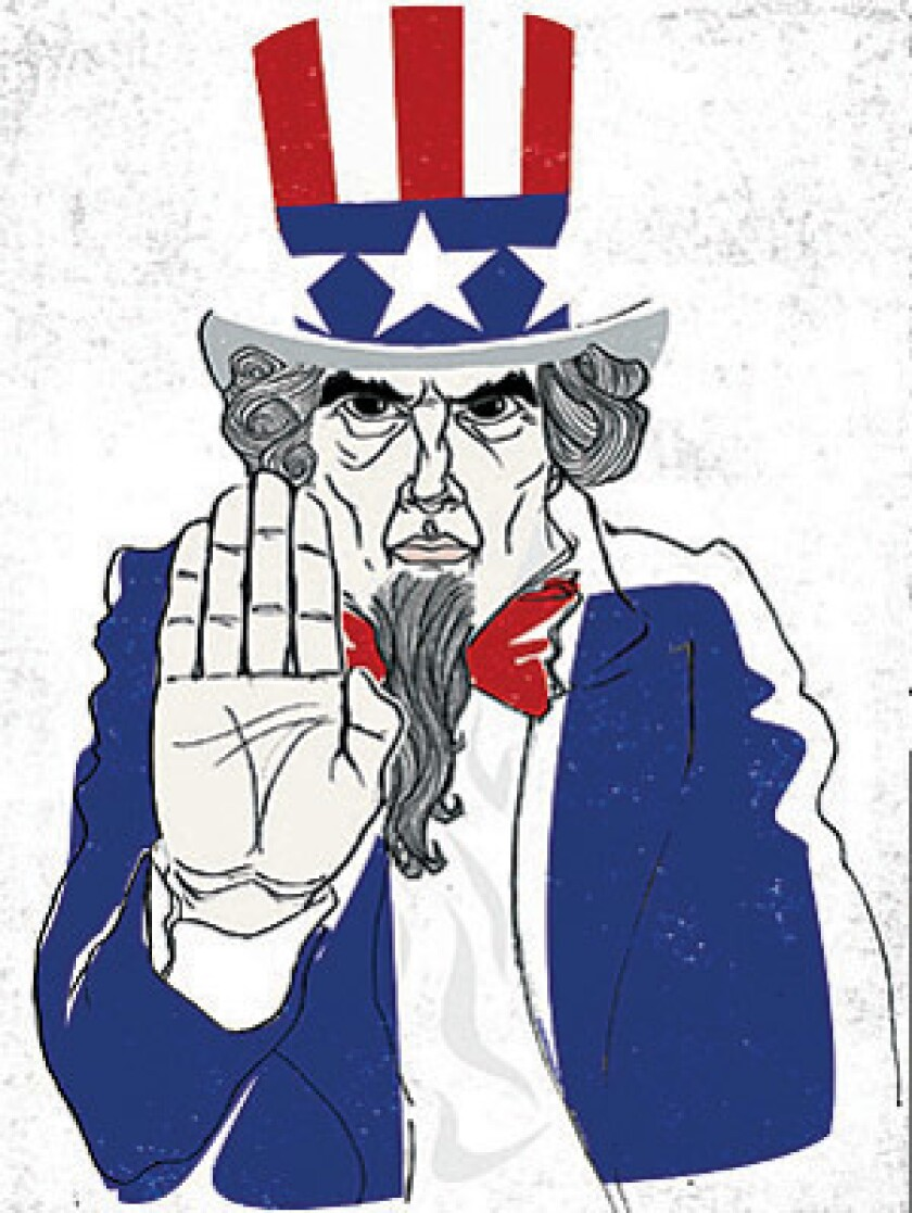 Uncle Sam doesn't always want you