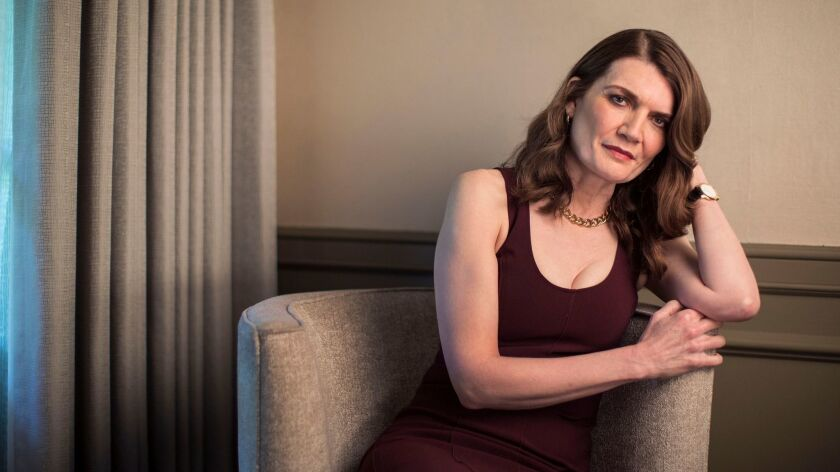 """""""The Glass Castle"""" author and journalist Jeannette Walls sits for a portrait at the Four Seasons in Los Angeles, California."""