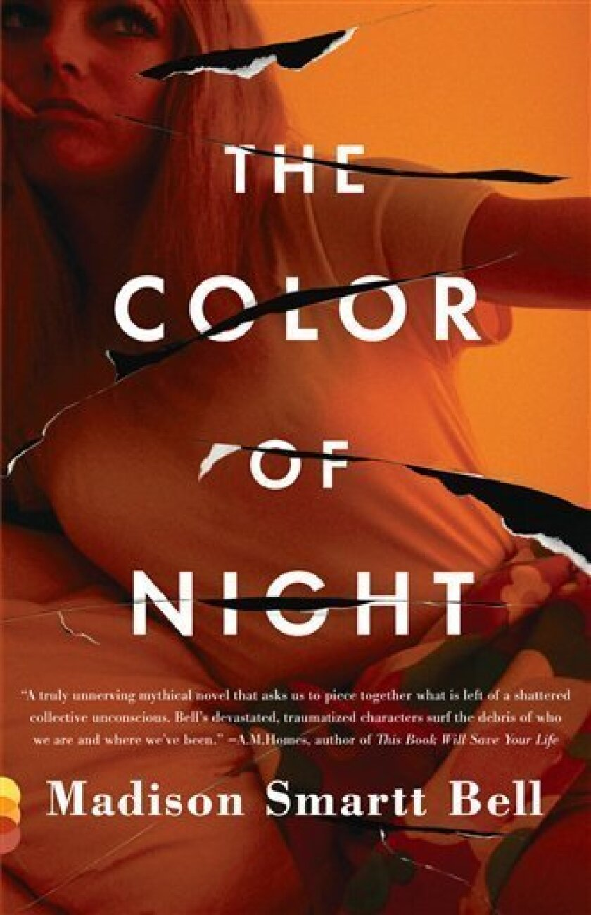 """In this book cover image released by Vintage Books, """"The Color of Night,"""" by Madison Smartt Bell, is shown. (AP Photo/Vintage Books)"""