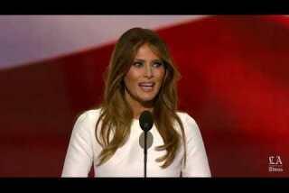Watch: Melania Trump addresses Republican National Convention