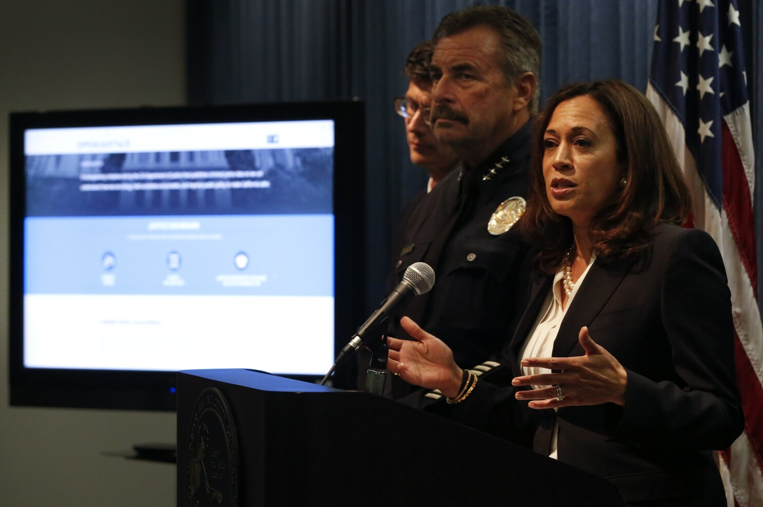 Black Men Killed By Police What Did Kamala Harris Do About It Los Angeles Times