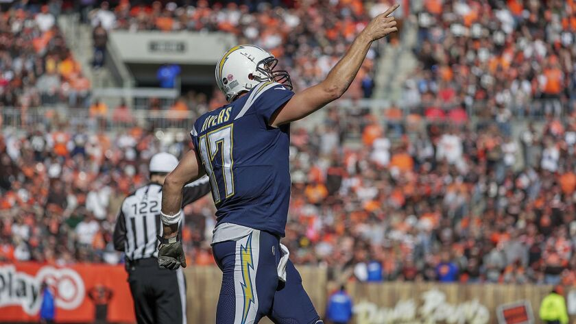 Quarterback Philip Rivers is headed to London to play an NFL game at Wembley Stadium for the second time, this one with the Chargers instead of San Diego .