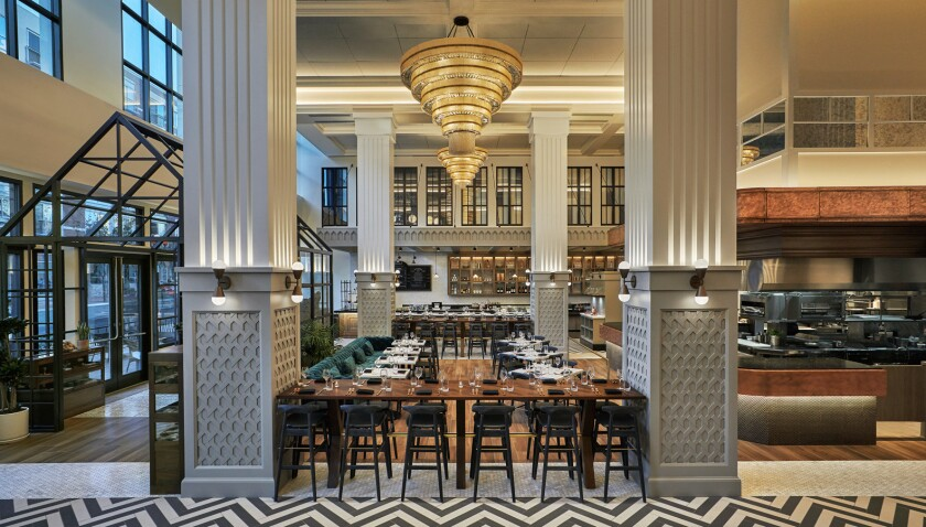 A pre-Thanksgiving ChefsGiving feast will be held Nov. 14 at the stylish Provisional Kitchen, Cafe & Mercantile at the Pendry Hotel in downtown San Diego's Gaslamp Quarter.