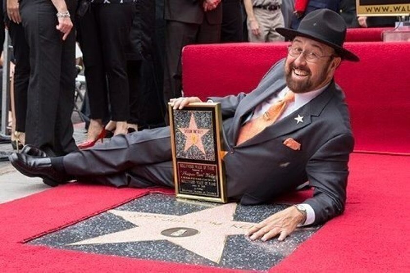 """Shotgun Tom"" Kelly received a star on the Hollywood Walk of Fame in 2013. On Aug. 28 he ends his nearly 20 years as a deejay on radio K-Earth 101 to become an ambassador for the station."