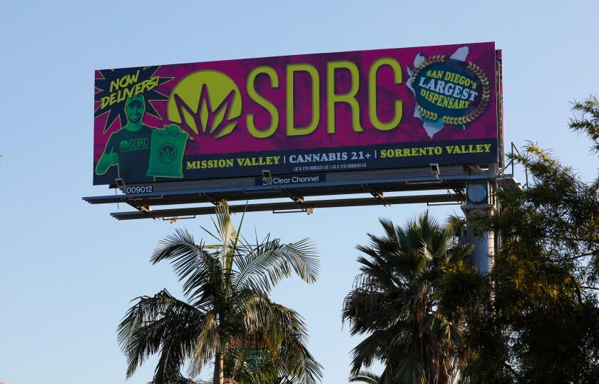 San Diego Pot Billboards