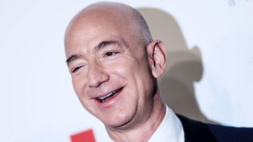 Jeff Bezos receives the Axel Springer Award, Berlin, Germany - 24 Apr 2018