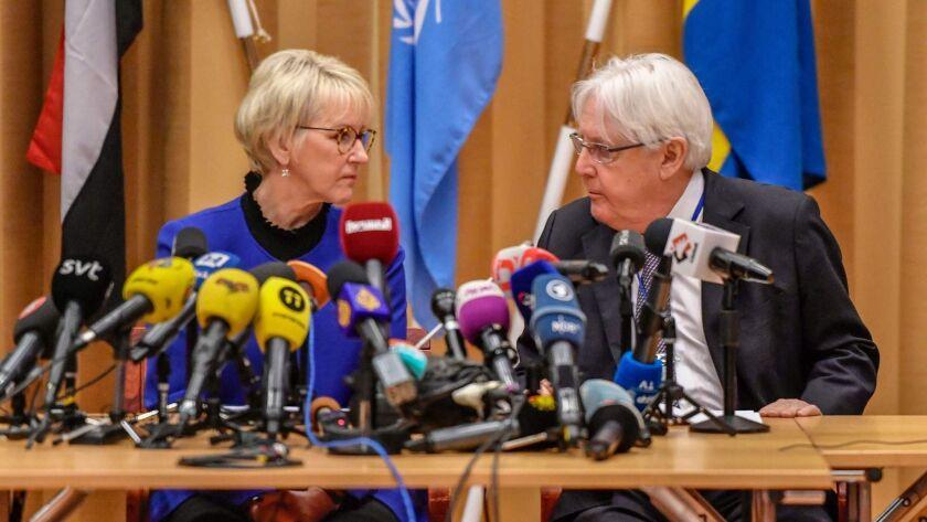 SWEDEN-YEMEN-PEACE-TALKS-CONFLICT