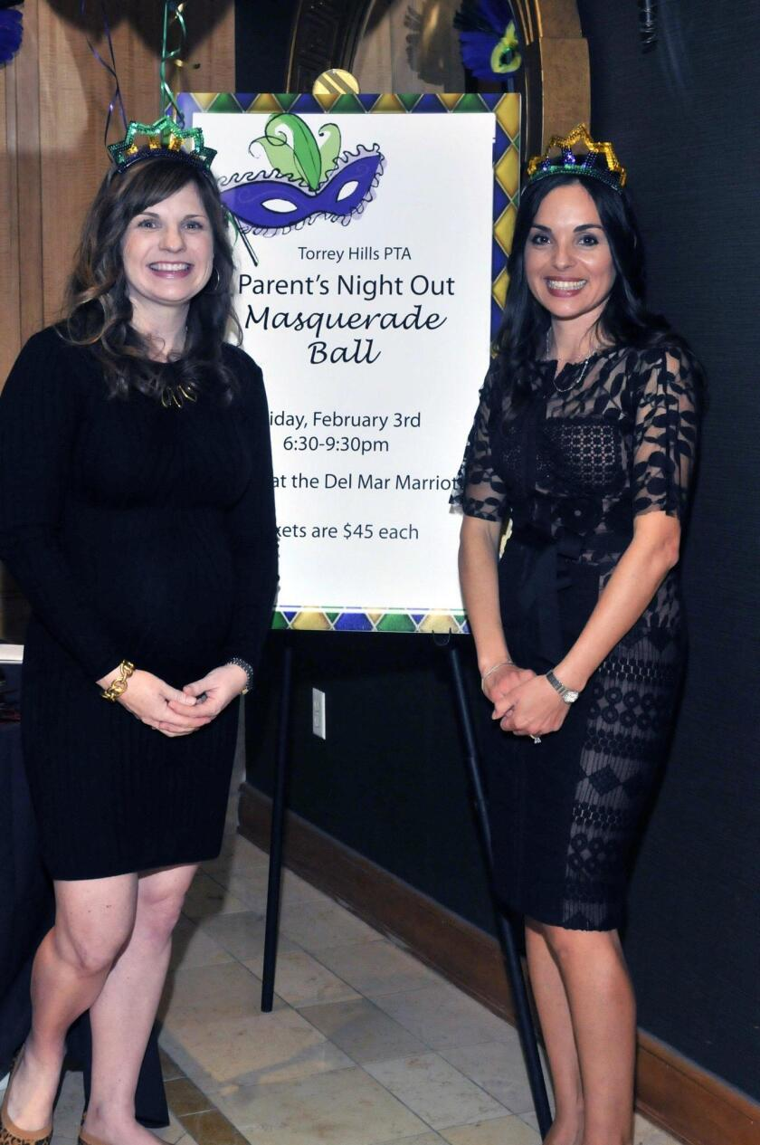 Event co-chairs Mindy Lewis and Aracely Forrester